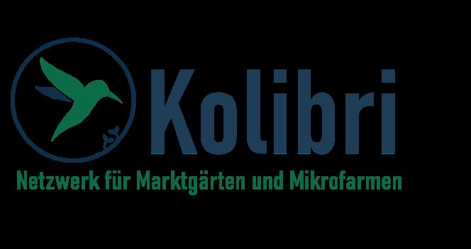 Logo des Kolibri Netzwerks für Market Garden und Mikrofarmen